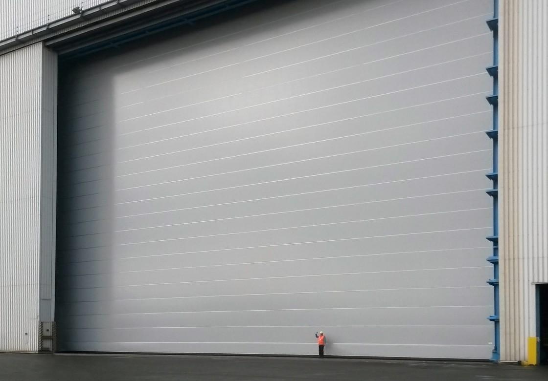 Shipyard doors & Shipyard doors and harbour doors for high wind conditions » Champion ...