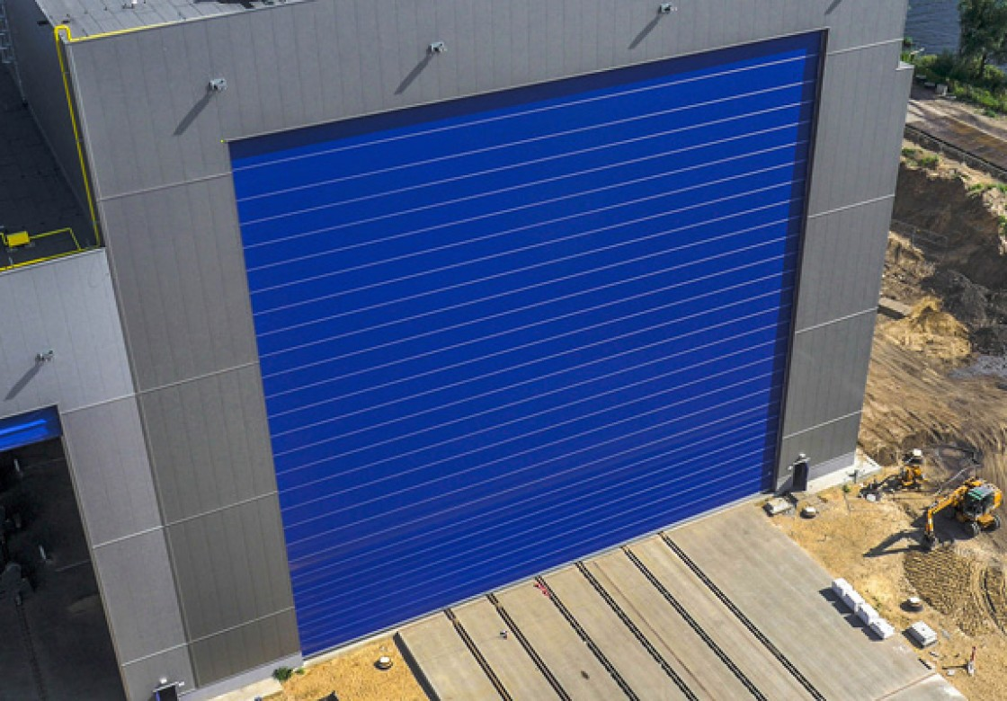 Shipyard doors & Shipyard doors and harbour doors for high wind conditions » Champion ...