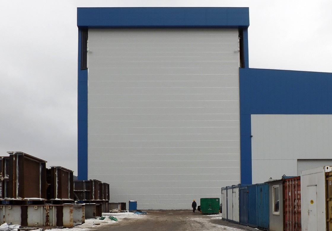 Champion Door Large Industrial Doors With Low Life Cycle Costs » Champion  Door