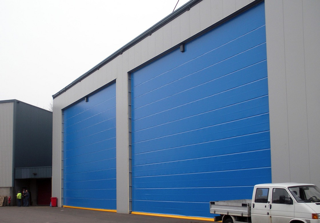 Champion Door Large Industrial Doors With Low Life Cycle