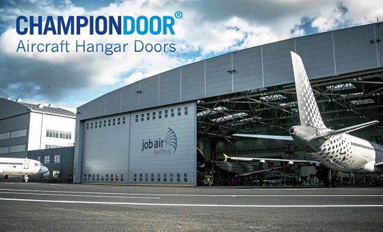 Champion Door MRO Hangar Door