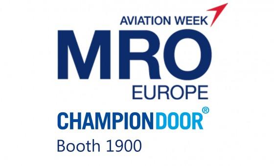803d2aabdd2 Champion Door in MRO Europe London 3.-5.10.2017 » Hangarporter og ...
