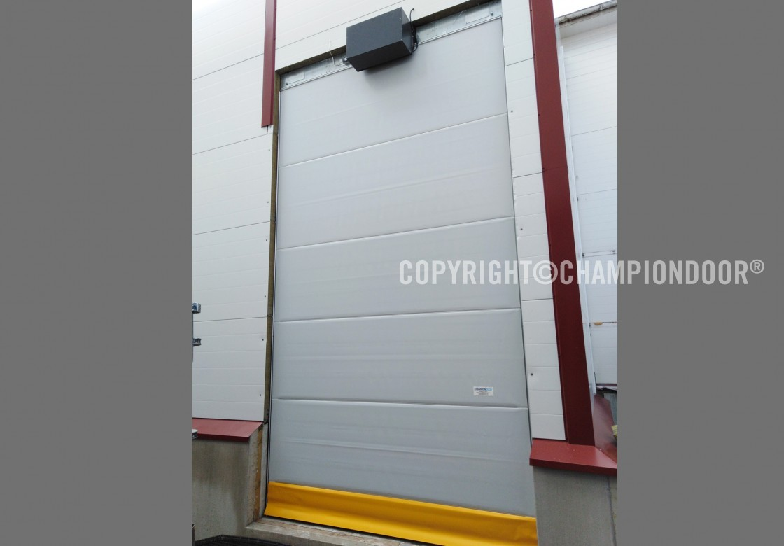 Champion Door Large Industrial Doors With Low Life Cycle Costs