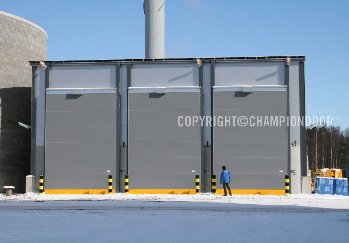 1 & Champion Door large industrial doors with low life-cycle costs ...