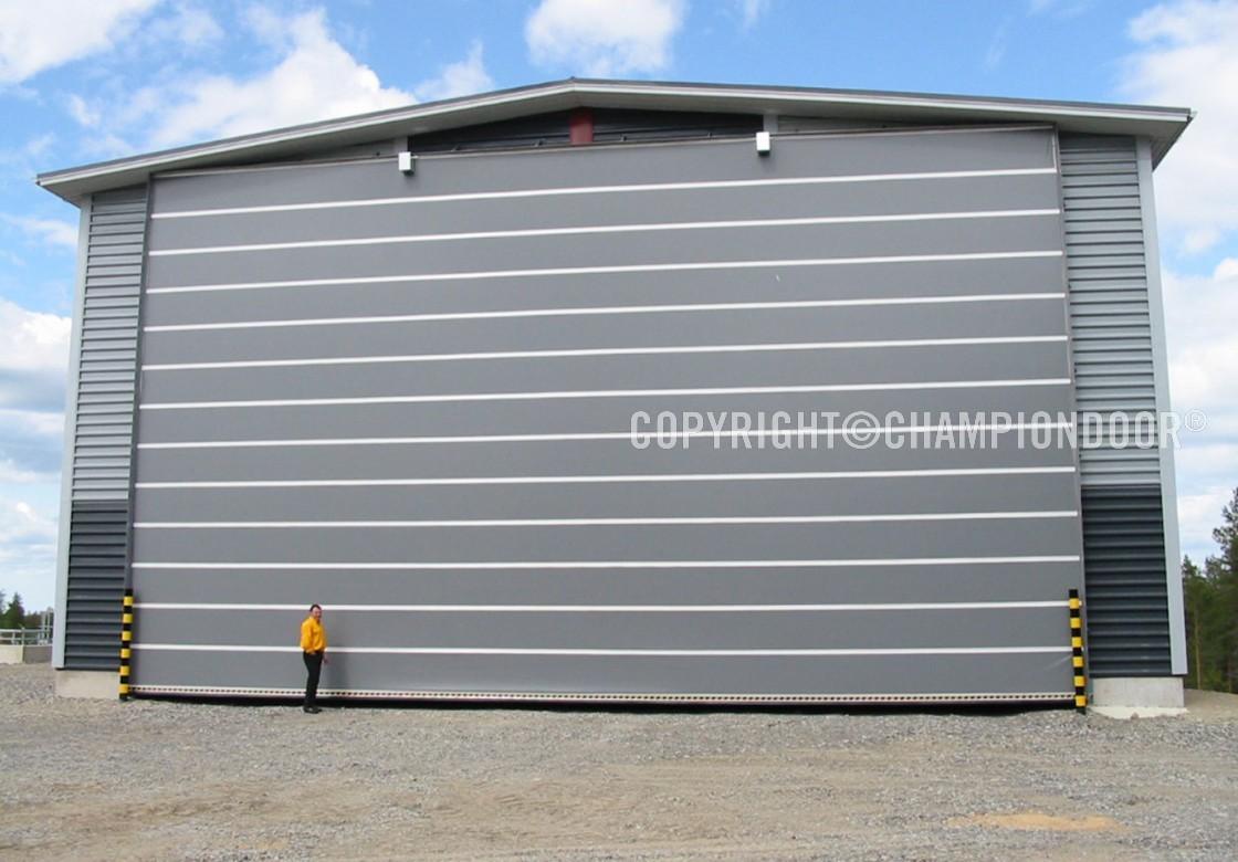 Ch&ion Door NK2 Double energy store door & NK2 Double - Industrial doors and shipyard doors - Champion Door ...