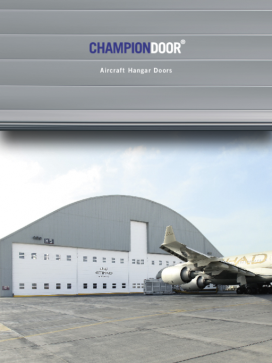 CHAMPION DOOR HANGAR DOORS EN 110117