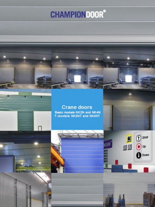 Champion Door Crane Doors brochure