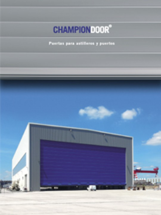 Champion Door ES Folleto Puertas Astilleros2