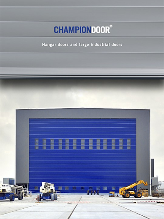 Champion Door Industrial Doors brochure