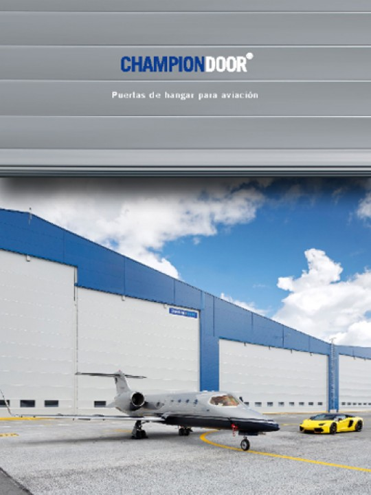Champion Door Poertas de hangar para aviacion